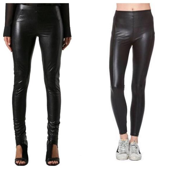 f04d66d5773a0 David Lerner Pants | Faux Leather Skinny Legging | Poshmark